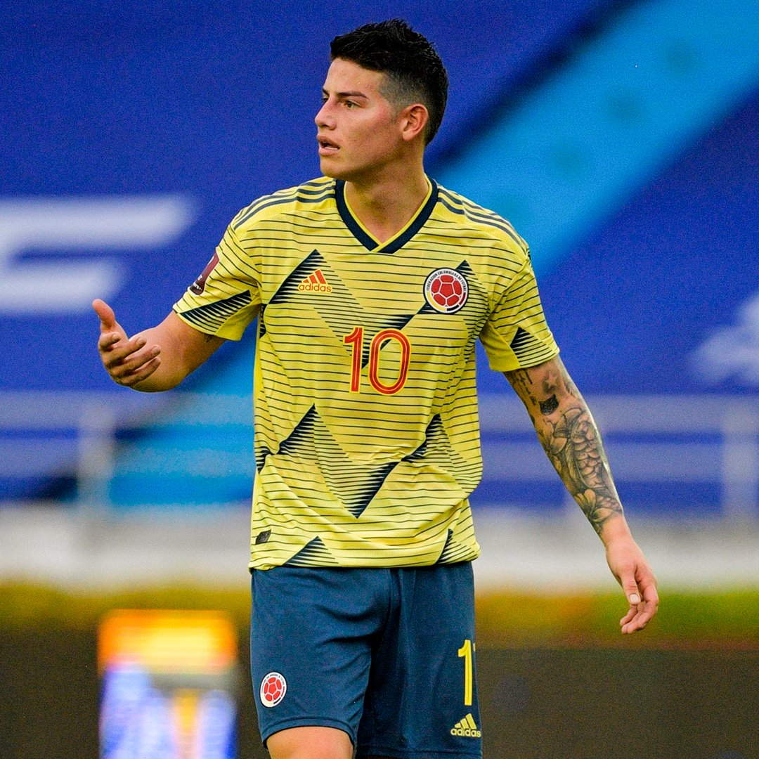 """James Rodriguez has been released from Colombia's squad for the Copa America after fitness tests found he is """"not at the optimal level"""""""