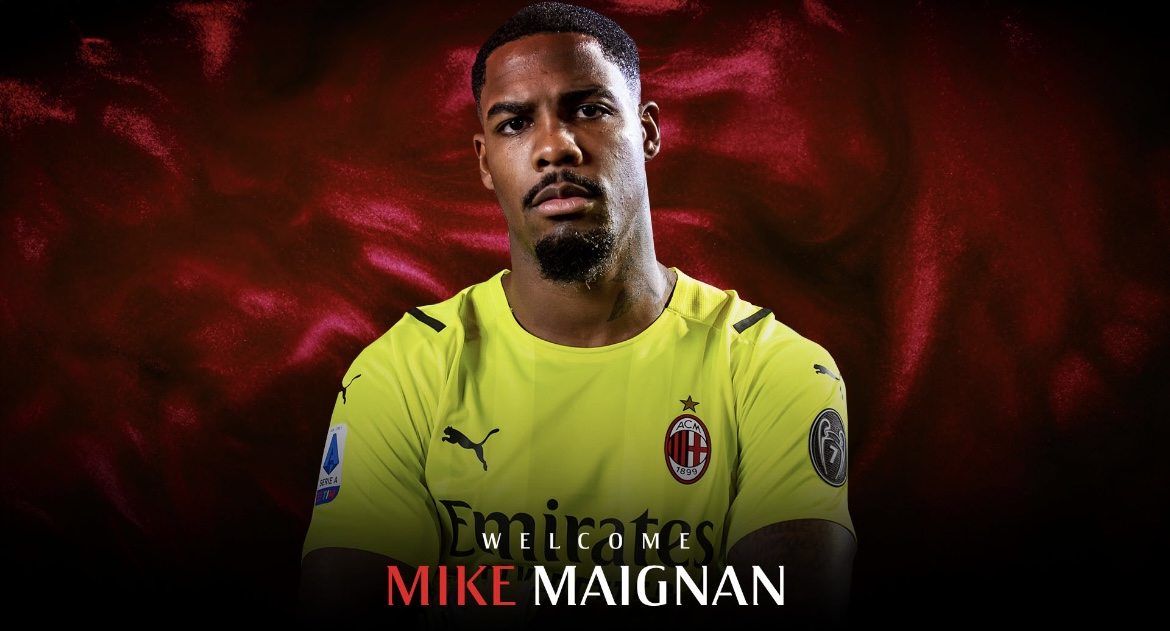 AC Milan have signed Mike Maignan from Lille