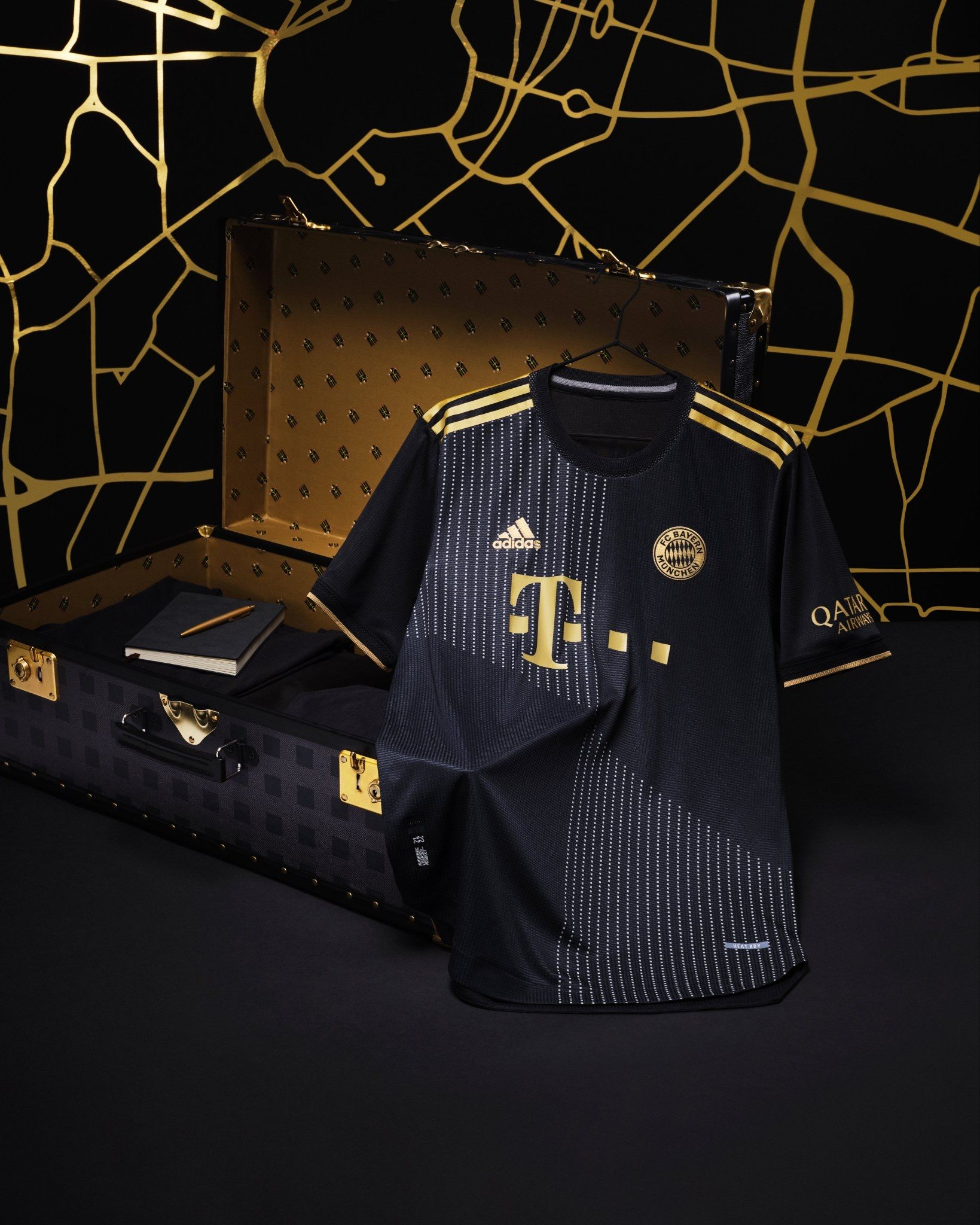 Bayern Munich have released their new away kit for next season.