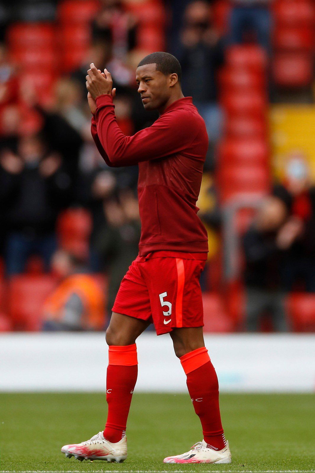 Gini Wijnaldum has reached a verbal agreement with Barcelona over a contract until June 2024