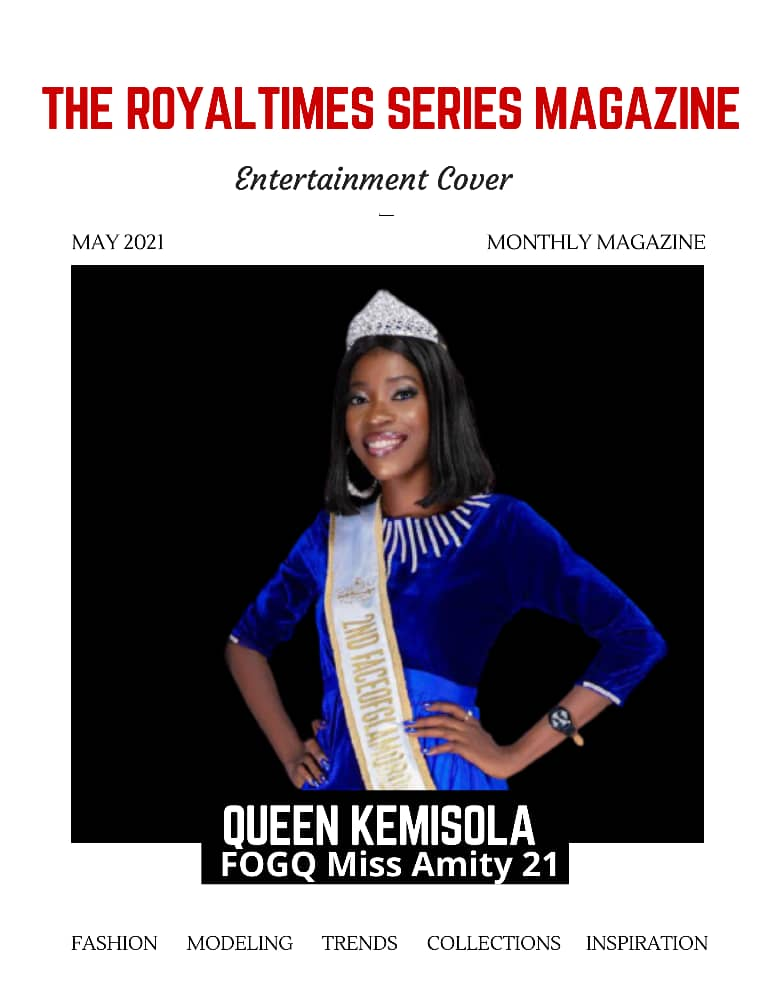 AN EXCLUSIVE INTERVIEW SESSION WITH ONE OF THE NEWLY CROWNED QUEEN: FACE OF GLAMOROUS QUEEN