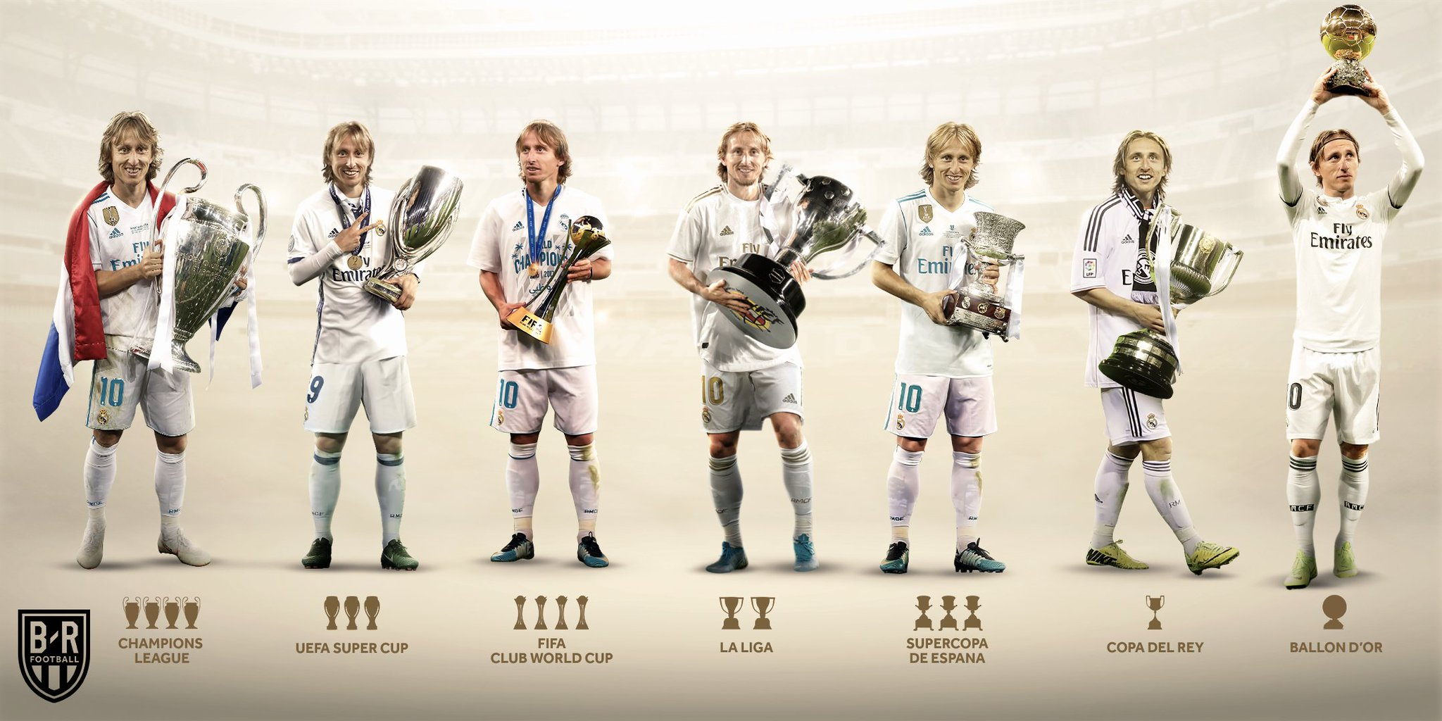 Luka Modric has officially signed a contract extension at Real Madrid