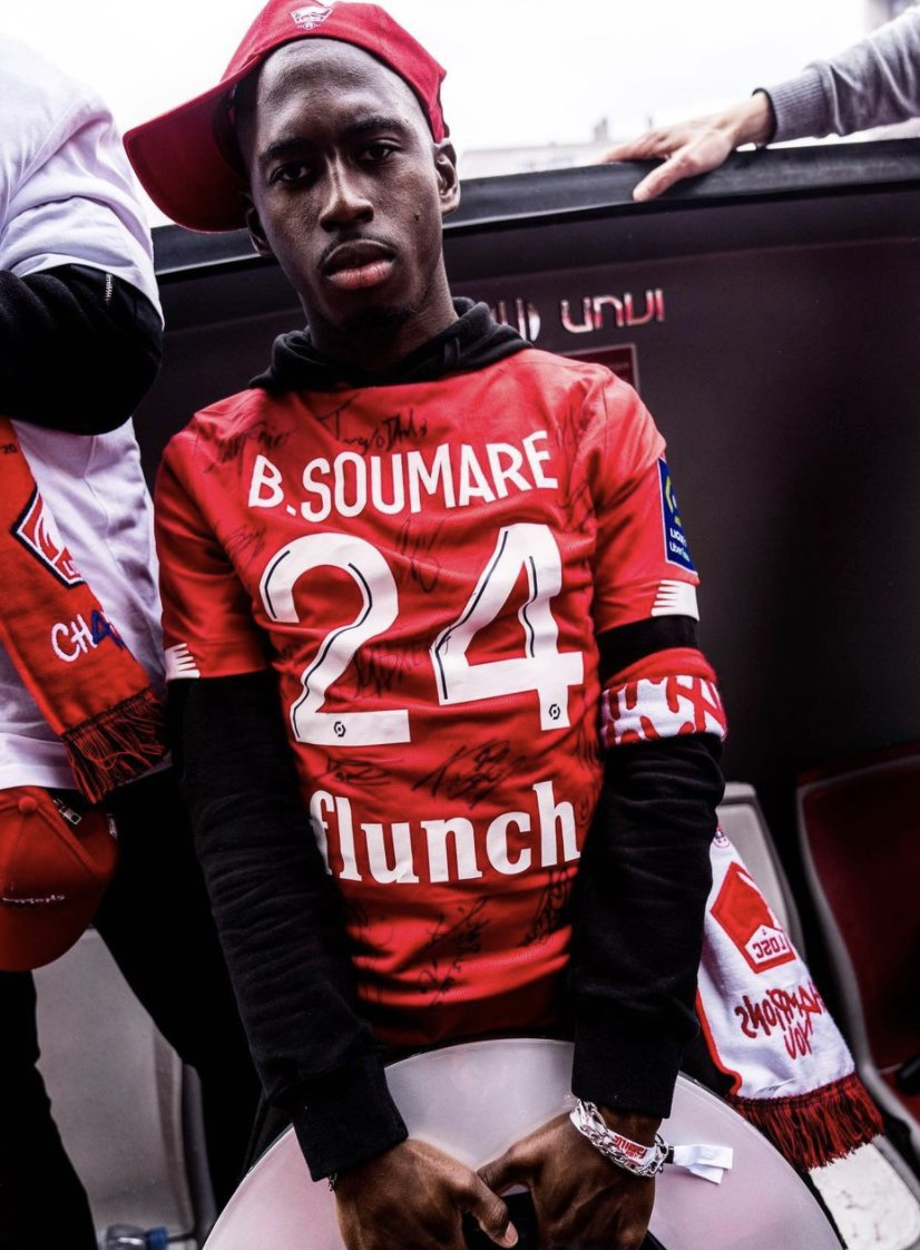 BREAKING: Leicester City have reached a total agreement with Lille for the €25m transfer of Boubakary Soumaré