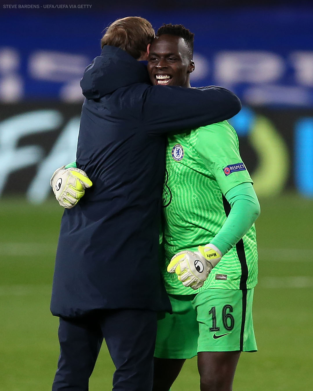becomes the first African goalkeeper to play in a UCL Final